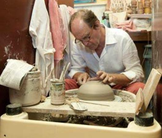 Donald Schell Working Studio